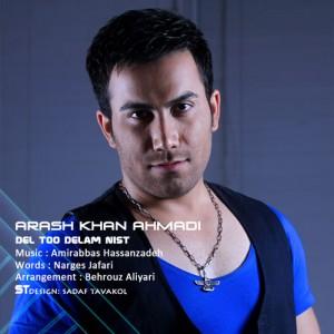 دانلود آهنگ جدید آرش خان احمدی به نام دل تو دلم نیست