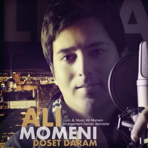 دانلود آهنگ جدید علی مومنی دوست دارم