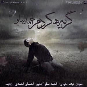 دانلود آهنگ جدید احمد سولو گریه کردم