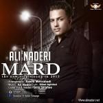 دانلود آهنگ جدید علی نادری به نام مرد