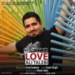 دانلود آهنگ جدید علی طالبی به نام عشق