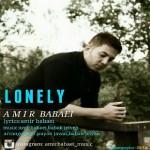 دانلود آهنگ جدید امیر بابایی به نام تنهایی