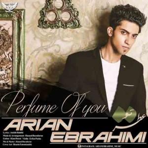 دانلود آهنگ جدید آرین ابراهیمی عطر تو