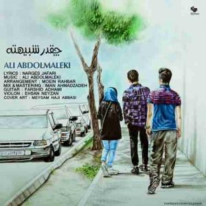 دانلود آهنگ جدید علی عبدالمالکی چقدر شبیهته