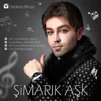 عکس کاور آهنگ جدید هادی ساده دل به نام  Simarik Ask عکس جدید هادی ساده دل