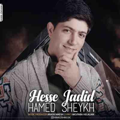 عکس کاور آهنگ جدید حامد شیخ به نام حس جدید عکس جدید حامد شیخ