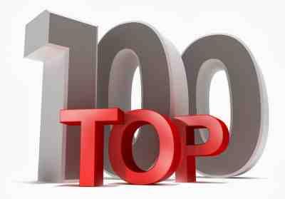 100 آهنگ برتر