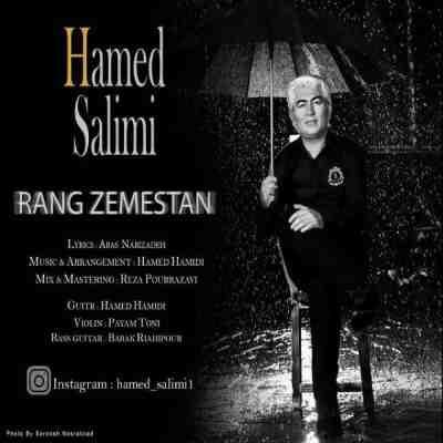 عکس کاور آهنگ جدید حامد سلیمی به نام رنگ زمستان عکس جدید حامد سلیمی