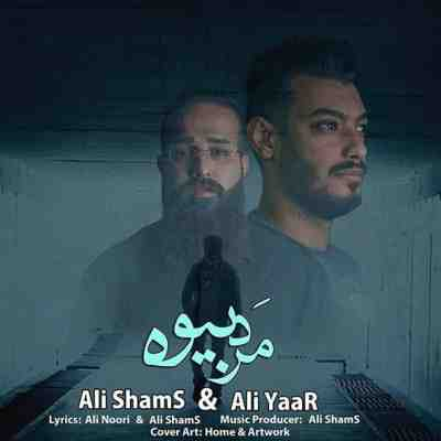 عکس کاور آهنگ جدید علی شمس و علی یار به نام  مرد بیوه عکس جدید علی شمس و علی یار