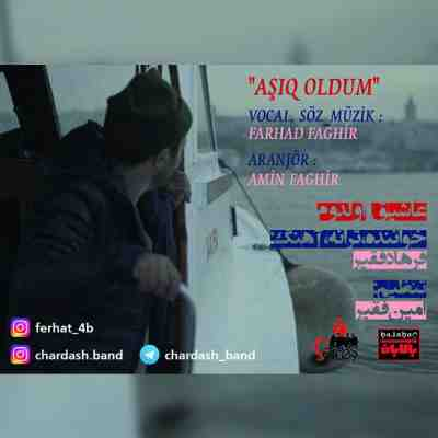 عکس کاور آهنگ جدید چارداش به نام عاشیق اولدوم عکس جدید چارداش