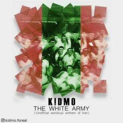 عکس کاور آهنگ جدید کیدمو به نام  ارتش سفید عکس جدید کیدمو