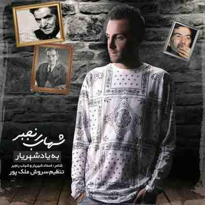 عکس کاور آهنگ جدید شهاب رنجبر به نام  به یاد شهریار عکس جدید شهاب رنجبر