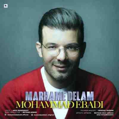 عکس کاور آهنگ جدید محمد عبادی به نام  مرحم دلم عکس جدید محمد عبادی