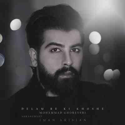 عکس کاور آهنگ جدید محمد قریشی به نام دلم به کی خوشه عکس جدید محمد قریشی