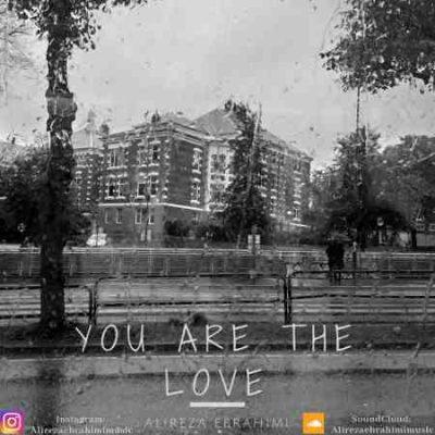 عکس کاور آهنگ جدید علیرضا ابراهیمی به نام تو خود عشقی عکس جدید علیرضا ابراهیمی