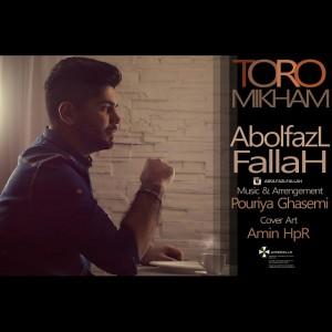 دانلود آهنگ جدید ابوالفضل فلاح تورو میخوام
