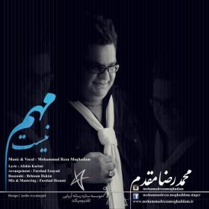 دانلود آهنگ جدید محمد رضا مقدم مهم نیست