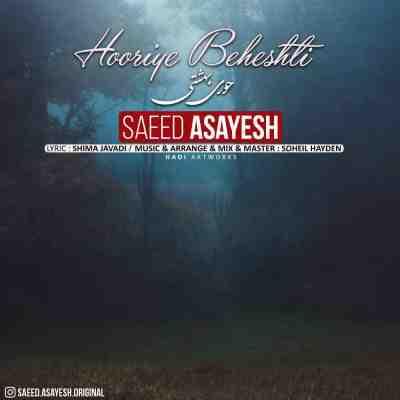 عکس کاور آهنگ جدید سعید آسایش به نام  حوری بهشتی عکس جدید سعید آسایش