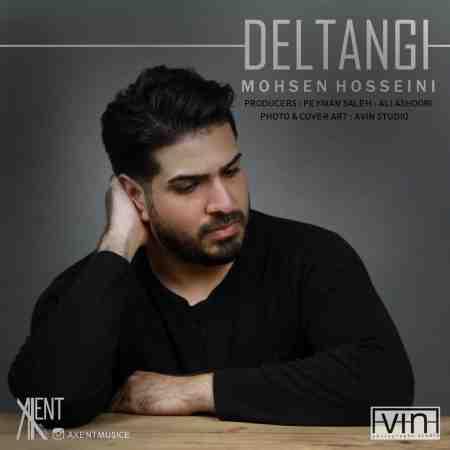 عکس کاور آهنگ جدید  محسن حسینی به نام دلتنگی عکس جدید  محسن حسینی