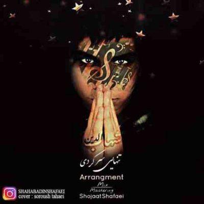 عکس کاور آهنگ جدید شهاب الدین شفائی به نام تنهایی سر کردی عکس جدید شهاب الدین شفائی