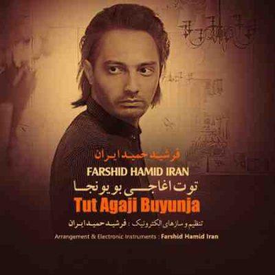 عکس کاور آهنگ جدید فرشید حمید ایران به نام  توت آغاجی بویونجا عکس جدید فرشید حمید ایران