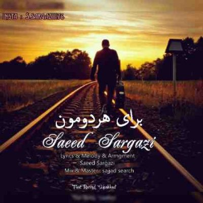 عکس کاور آهنگ جدید سعید سرگزی به نام  برای هردومون عکس جدید سعید سرگزی