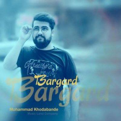 عکس کاور آهنگ جدید محمد خدابنده به نام برگرد عکس جدید محمد خدابنده