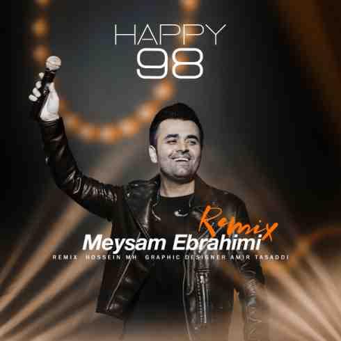 عکس کاور آهنگ جدید میثم ابراهیمی به نام Happy 98 عکس جدید میثم ابراهیمی