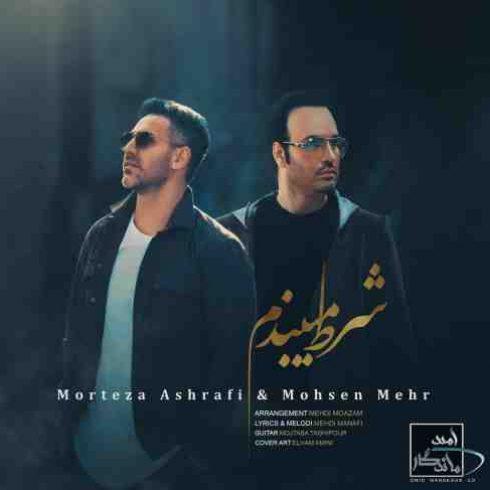 دانلود آهنگ جدید مرتضی اشرفی و محسن مهر به نام  شرط میبندم / کیفیت اورجینال 320