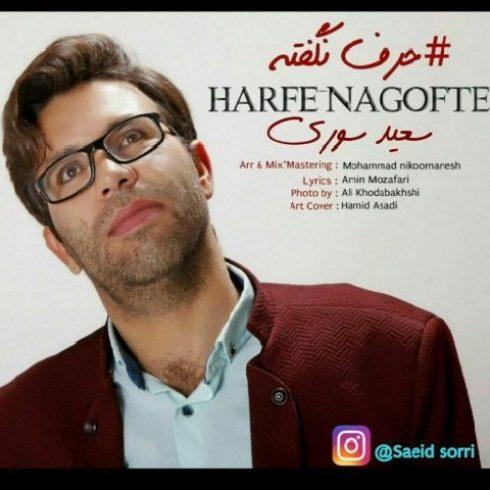 دانلود آهنگ جدید سعید سوری به نام حرف نگفته / کیفیت اورجینال 320