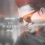 دانلود آهنگ جدید احمد سعیدی تو بخند
